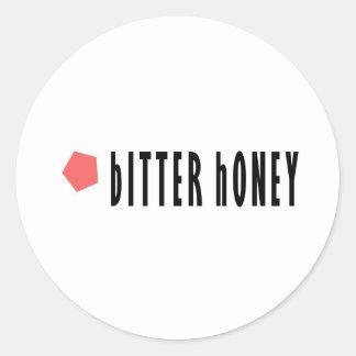 Bitter Honey Classic Round Sticker