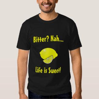 Bitter Lemon design for men Tshirt