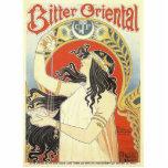 Bitter Oriental art nouveau Acrylic Cut Outs