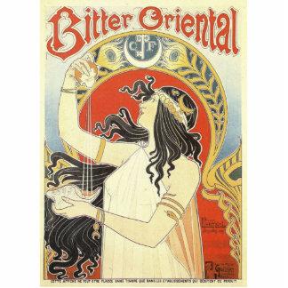 Bitter Oriental art nouveau Cutout