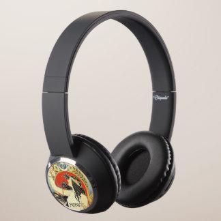 """Bitter Oriental"" custom monogram headphones"