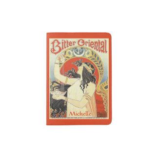 """Bitter Oriental"" custom name passport cover"