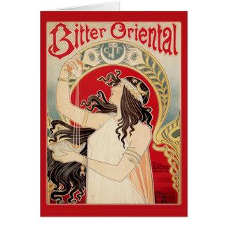 Bitter Oriental (Red) Card