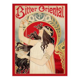 Bitter Oriental (Red) Postcard