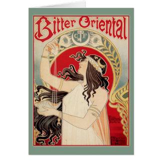Bitter Oriental (Teal) Card