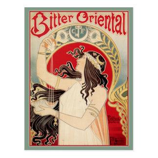 Bitter Oriental (Teal) Postcard