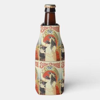"""Bitter Oriental"" Vintage Ad custom can cooler"