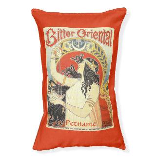 """""""Bitter Oriental"""" Vintage Ad custom dog bed"""