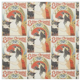 """""""Bitter Oriental"""" Vintage Ad custom fabric"""