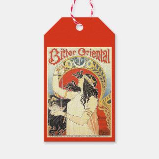"""Bitter Oriental"" Vintage Ad custom gift tags"