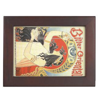 """""""Bitter Oriental"""" Vintage Ad custom keepsake box"""