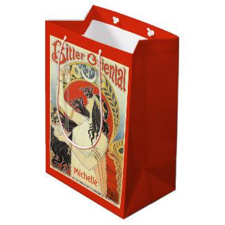 """Bitter Oriental"" Vintage Ad custom name gift bags"