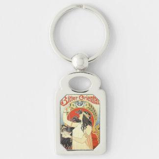 """Bitter Oriental"" Vintage Ad key chain"
