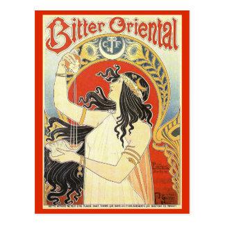 """Bitter Oriental"" Vintage Ad postcard"