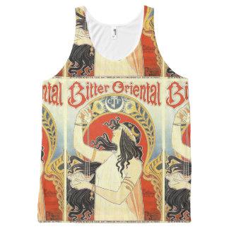 """Bitter Oriental"" Vintage Ad tanktop All-Over-Print Tank Top"