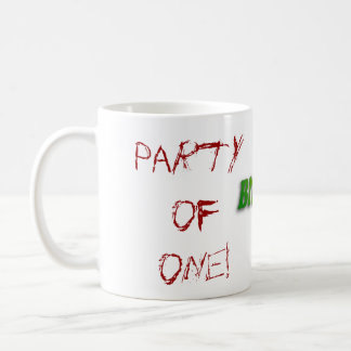 Bitter, Party of one! Mug