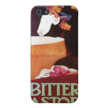 Bitter Pastore Milano Vintage Wine Drink Ad Art iPhone 5 Covers