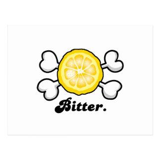 bitter postcard