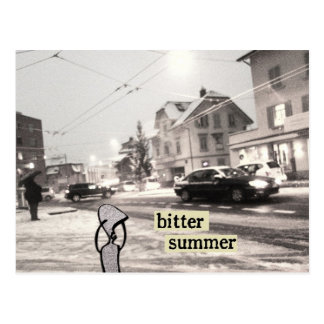 bitter summer postcard