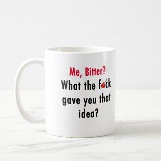 Bitter Valentine Mug mug