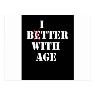 Bitter With Age Post Cards