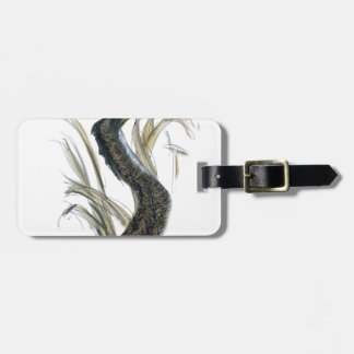 bittern bird, tony fernandes luggage tag