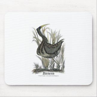Bittern bird, tony fernandes mouse pad