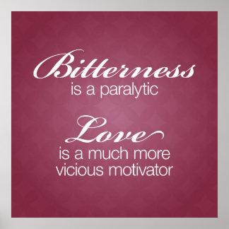 Bitterness & Love Poster