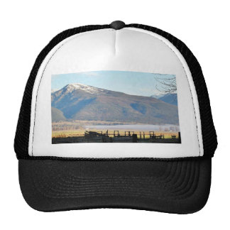 Bitterroot Mountains Fields Trucker Hat