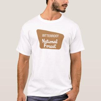 Bitterroot National Forest (Sign) T-Shirt