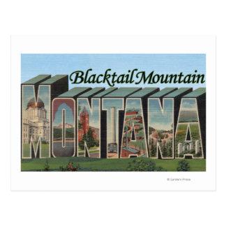 Bitterroot Nat'l Forest, Montana 2 Postcard