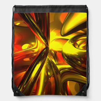 Bittersweet Abstract Drawstring Backpacks