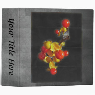 Bittersweet Berries - Autumn Beauty 3 Ring Binder