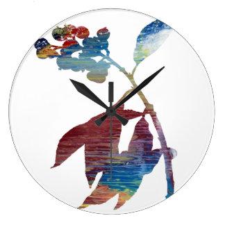 Bittersweet Large Clock
