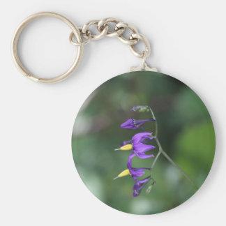 Bittersweet nightshade (Solanum dulcamara) Keychain