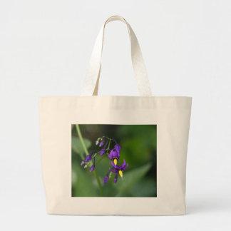 Bittersweet nightshade (Solanum dulcamara) Large Tote Bag