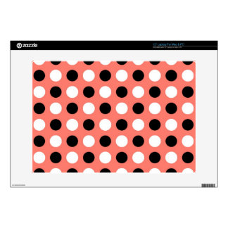Bittersweet Polka Dots Decals For Laptops