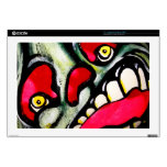 """Bitting Scream Decal For 17"""" Laptop"""