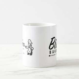 """Bittle Bakery """"Try Our Donuts"""" 11 oz Two-Tone Mug"""