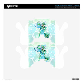 Bitty Water Dragon PS3 Controller Decals