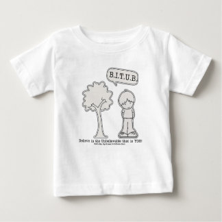 BITUB Pattern (Believe in the Unbelievable) Baby T-Shirt