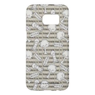 BITUB Pattern (Believe in the Unbelievable) Samsung Galaxy S7 Case