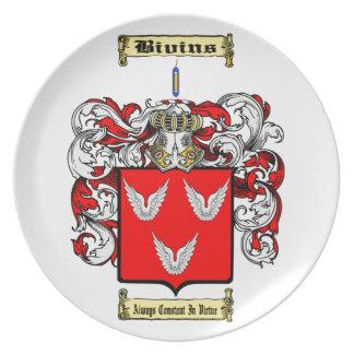 Bivins Plate