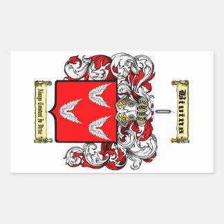 Bivins Rectangular Sticker