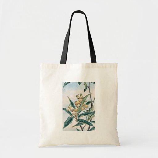 Biwa loquat / Megata Ukiyo-e. Budget Tote Bag