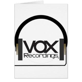 bix vox tee2 card