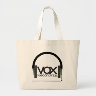 bix vox tee2 large tote bag