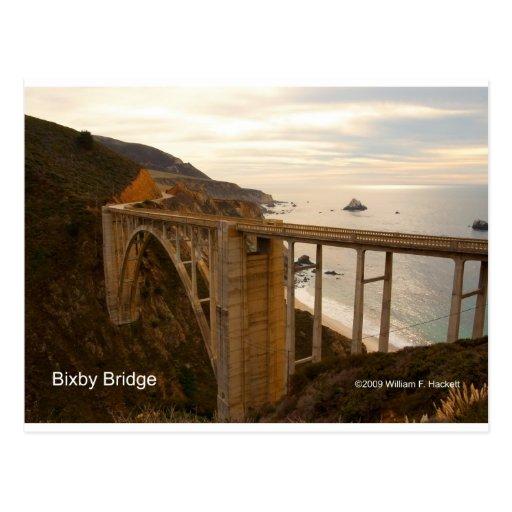 Bixby Bridge Big Sur California Products Postcard