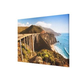 Bixby Bridge, Big Sur, California, USA Canvas Print