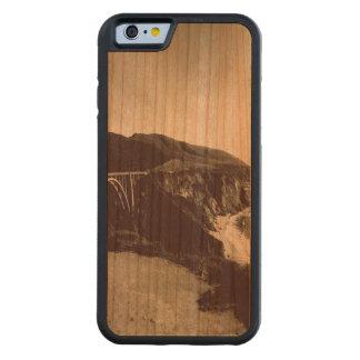 Bixby Bridge, Big Sur, California USA Carved Cherry iPhone 6 Bumper Case
